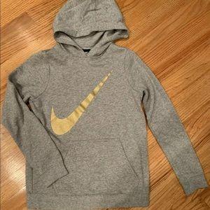 Girl's Nike Sweatshirt Hoodie Medium Large